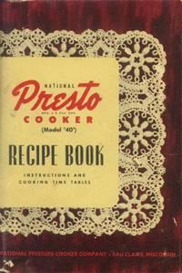 image of National Presto Cooker (Model '40') Recipe Book