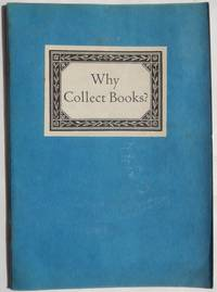 Why Collect Books?