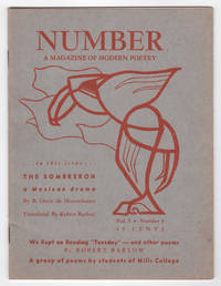 Number : A Magazine of Modern Poetry, Volume 1, Number 3 (1951)