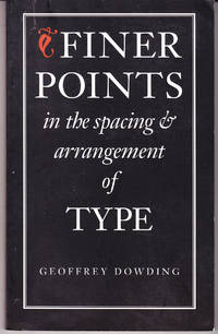 image of Finer Points in the Spacing and Arrangement of Type