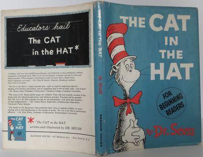 Random House, 1957. First. hardcover. Fine/Near fine. Dr. Seuss. A fine first edition (matte boards,...