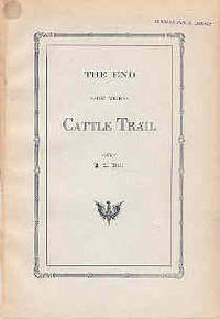 The End of the Cattle Trail