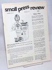 image of Small Press Review: review of small-press publications; vol. 7, #5-6, Whole Numbers 29-30, June/July 1975