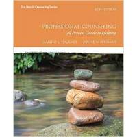 Professional Counseling: A Process Guide to Helping (8th Edition) by Janine M. Hackney  Harold L; Bernard - Paperback - 2016-01 - from EH BOOKSTORE (SKU: 75)