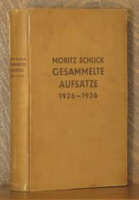 GESAMMELTE AUFSATZE 1926-1936