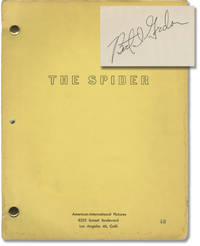 image of Earth vs. the Spider [The Spider] (Original screenplay for the 1958 film)