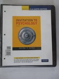 Invitation to Psychology, Books a la Carte Edition (5th Edition)