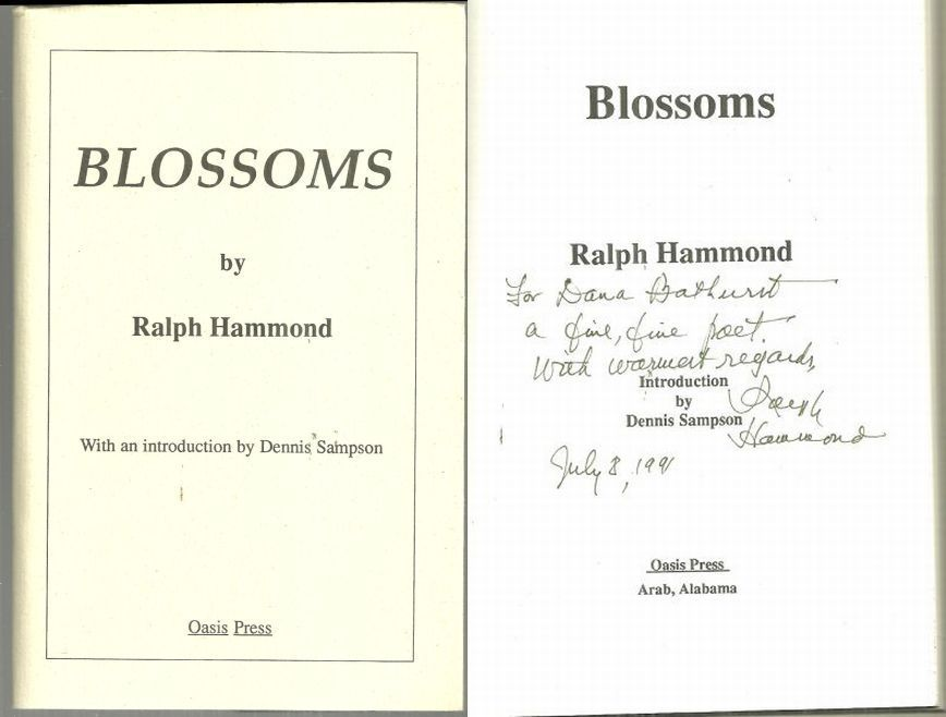 BLOSSOMS, Hammond, Ralph