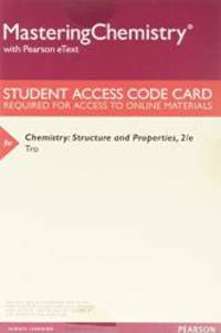 Chemistry: Structure and Properties, Books a la Carte Plus MasteringChemistry with Pearson eText -- Access Card Package (2nd Edition) by Nivaldo J. Tro - 2017-01-16 - from Books Express and Biblio.com