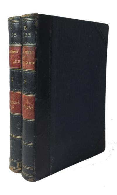 London: Richard Bentley and Son, 1891. Hardcover. Very Good. 2 vols. 289p. 260p. Rebound in blue 1/2...