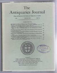 The Antiquaries Journal, Being the Journal of The Society of Antiquaries of London, Volume XLIX, 1969, Part II