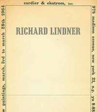 Richard Lindner: New Paintings. March 3rd to March 28th 1964. [Exhibition brochure].