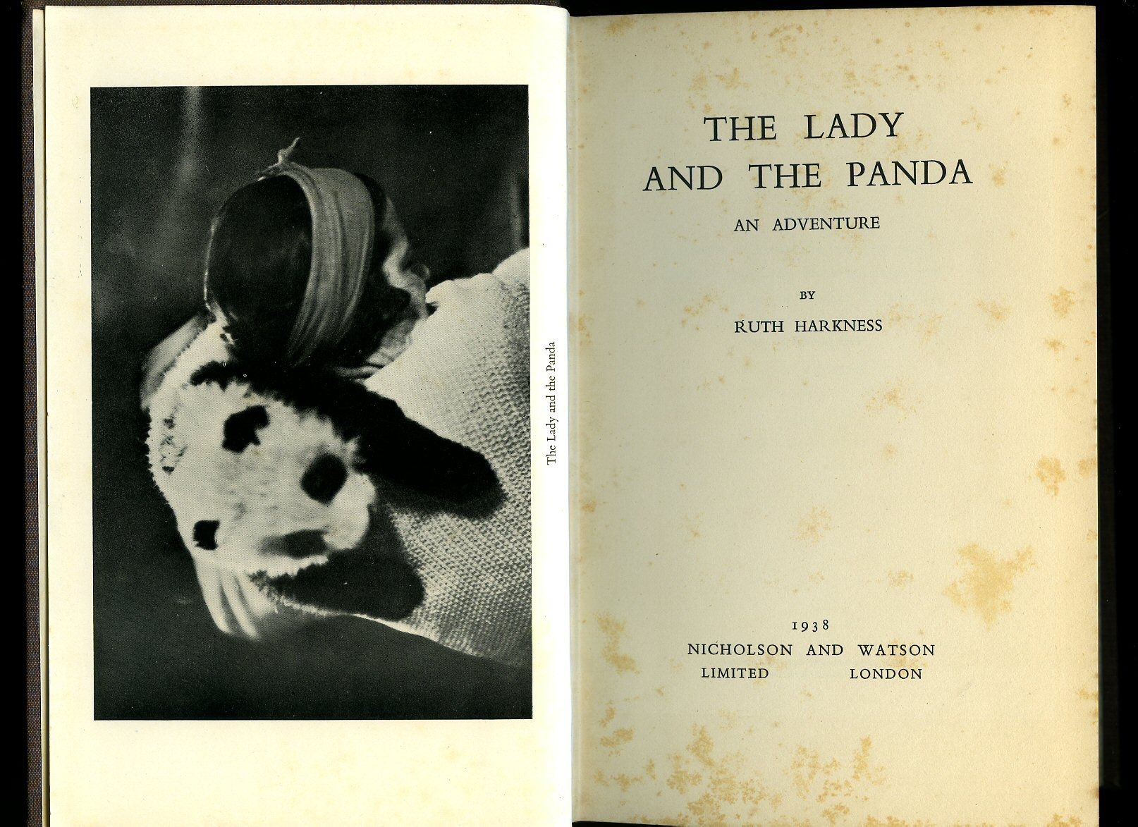 ruth harkness the lady and the Ruth harkness: the lady and the panda my husband, bill and i were opposites more about differences between red pandas and giant pandas in the wild essay.