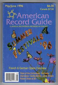 American Record Guide - May / June 1996 - Vol.59, No.3