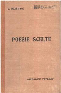image of Poesie scelte (texte en italien )