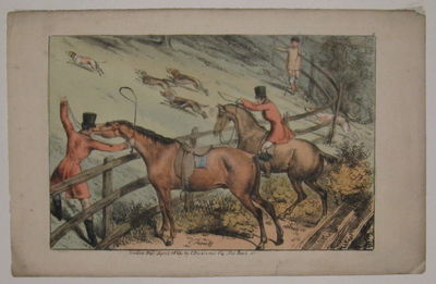 London: I. Dickinson, 1823. unbound. very good. View. Lithograph with original hand coloring. Page m...