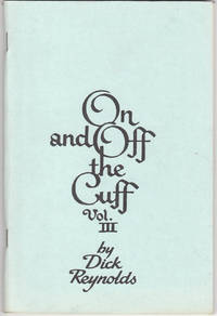 image of On and off the Cuff Vol, III