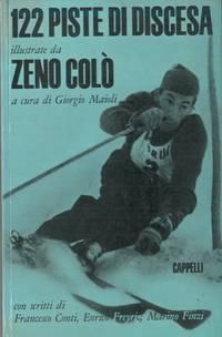 122 piste da sci illustrate da zeno Colo\'.
