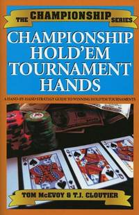 Championship Hold'em by  T.J Cloutier - Paperback - from World of Books Ltd (SKU: GOR001602830)