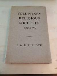 image of Voluntary Religious Societies, 1520-1799