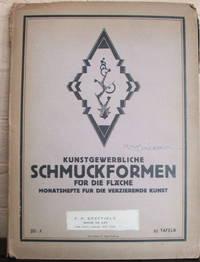 Kunstgewerbliche Schmuckformen für die Fläche. Monatshelfe für die Verzier Kunst. Bd. X, 30 Tafeln