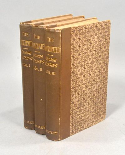 1890. A LOVELY TRIPLE-DECKER GISSING, George. THE EMANCIPATED. A Novel. In Three Volumes. London: Ri...