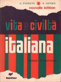 image of Vita e civilta italiana