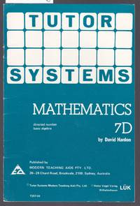 image of Tutor Systems : Mathematics 7D : For Use with  Tutor Systems 24 Tile Pattern Board