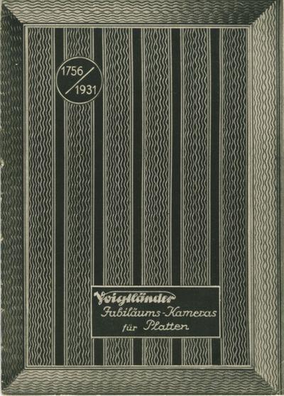 Braunschweig: Voigtländer & Sohn, 1931. 24mo., 20 pp., text illustrations, b&w photographs. Illus...