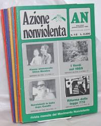 image of Azione nonviolenta (Nonviolent action). 1989:  1-12