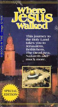 Where Jesus Walked : Special Edition (VHS)