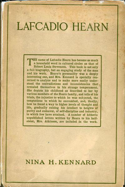 New York: D. Appleton and Company, 1912. Octavo, pp. vii-x 1-356 , eight inserted plates, original o...