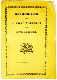 Cathecismo do 2.º grau maçónico do Rito Escocez.