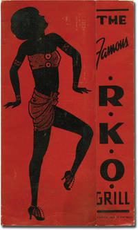 image of Menu for the RKO Grill, San Francisco, California