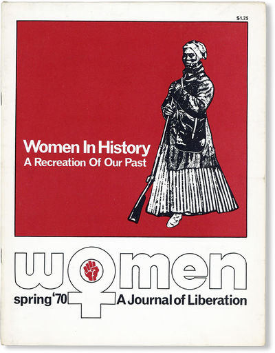 Baltimore: Women: A Journal of Liberation, Inc, 1970. First Edition. Quarto (28cm); illustrated card...