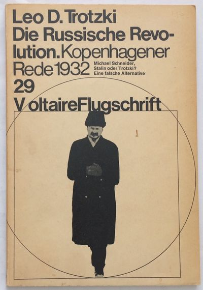 Berlin: Voltaire Verlag, 1970. 58p., slender paperback, pages toned. Voltaire Flugschrift Nr. 29.