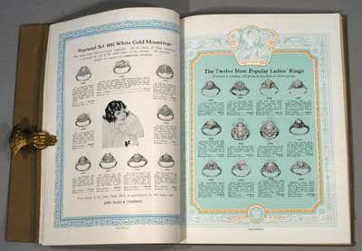 1925. THE JOHN PLAIN BOOK . Chicago: The John Plain Company, 1925. 97 pp. 4to., quarter brown cloth ...