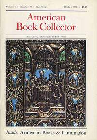 American Book Collector: Volume 7 Number 10