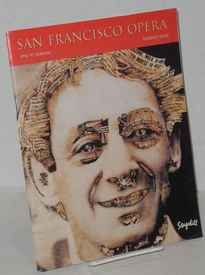San Francisco: San Francisco Opera Magazine, 1996. Magazine. 68p., 8.5x11 inches, cast, crew, articl...