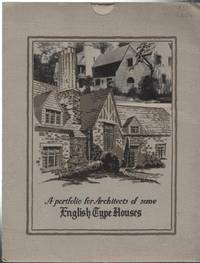 A Portfolio For Architects of Some English Type Houses