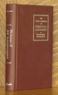 image of THE CONCISE DICTIONARY OF TWENTY-SIX LANGUAGES
