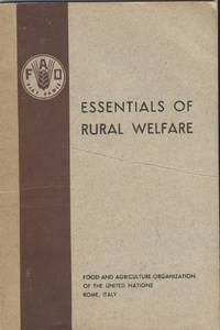 Essentials of Rural Welfare