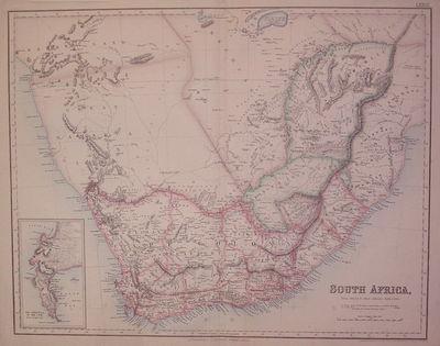 Edinburgh: Fullarton, Archibald, 1862. unbound. very good. Map. Color wax engraving (cerograph). Ima...