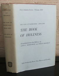 Code of Maimonides: Book Five, The Book of Holiness