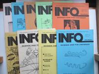 image of Info Journal: science and the unknown. Nos. 15 - 21, 23 & 24 May 1975 -  August 1977. 9 issues