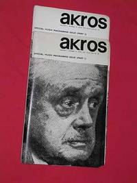 Akros Volume 5, Numbers 13 & 14, April 1970 (Special Double Hugh Macdiarmid Issue parts 1...