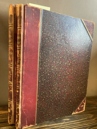 Fords, Howard & Hulbert, 1890. First Edition. Hardcover. Folios, 2 volumes; G; bound in three quarte...
