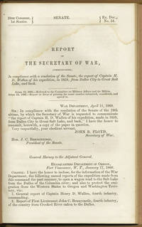 : n.p., 1860. First edition. Modern cloth with morocco label with gilt title. A very good copy, ligh...