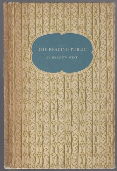 New York: Harcourt, Brace, and Company, 1952. Hardcover. Very Good. First edition. 12mo. Printed pap...