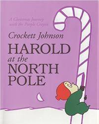 image of Harold at the North Pole (Harold and the Purple Crayon)